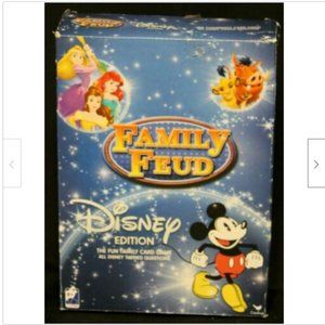 Cardinal Family Feud Disney Edition Card Game Ques
